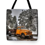 Will Plow For Snow Tote Bag