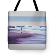 Will Rogers Beach Tote Bag