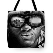 Will Smith As Hancock Tote Bag