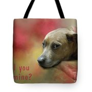 Will You Be Mine? Tote Bag