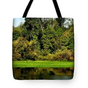 Willamette River Reflections 3813 Tote Bag