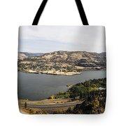 Willamette Valley Panorama Tote Bag
