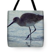Willet In The Surf Tote Bag