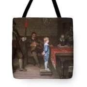 William Frederick Yeames - And When Did You Last See Your Father 1878 Tote Bag
