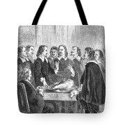 William Harvey Explaining Blood Tote Bag