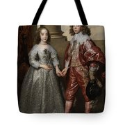 William II, Prince Of Orange, And His Bride, Mary Stuart Tote Bag