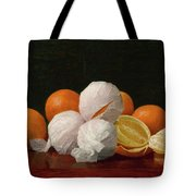 William J. Mccloskey 1859 - 1941 Untitled Wrapped Oranges Tote Bag