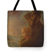 William J Webbe , The Shadow Of A Rock Tote Bag