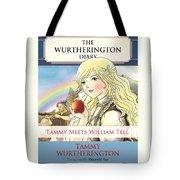 William Tell Cover Art Tote Bag