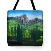 Williams Creek Tote Bag