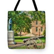 Williamsburg Cannon Tote Bag