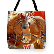 Williamsburg Carriage Horse Tote Bag