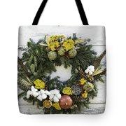 Williamsburg Wreath 09b Tote Bag