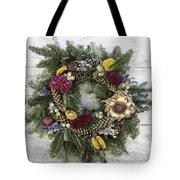 Williamsburg Wreath 10b Tote Bag
