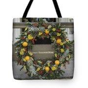 Williamsburg Wreath 18 Tote Bag