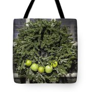 Williamsburg Wreath 27 Tote Bag
