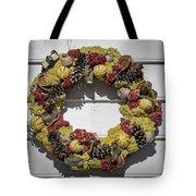 Williamsburg Wreath 29 Tote Bag