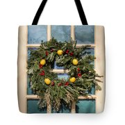 Williamsburg Wreath 37 Tote Bag