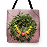 Williamsburg Wreath 54 Tote Bag