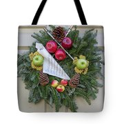 Williamsburg Wreath 87 Tote Bag