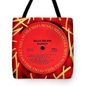 Willie Nelson Stardust Lp Label Tote Bag