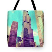 Willis Tower - Chicago Tote Bag