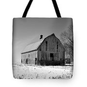 Willow Barn Bw Tote Bag