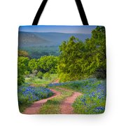 Willow City Road Tote Bag