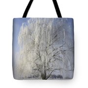 Willow In Ice Tote Bag