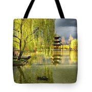 Willow Tree In Liiang China II Tote Bag