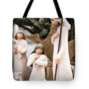 Willow Tree Nativity At Christmas Tote Bag