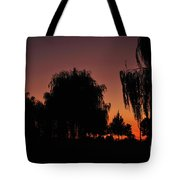 Willow Tree Silhouettes Tote Bag