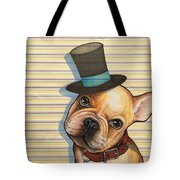 Willy In A Top Hat Tote Bag