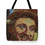 Willy Wonka Fizzy Lifting Bottle Cap Mosaic Tote Bag