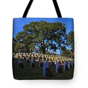Wilmington National Cemetery Christmas Tote Bag