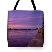 Wilmington Waterfront Tote Bag