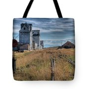 Wilsall Grain Elevators Tote Bag