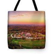 Wilson Lodge Panorama Tote Bag