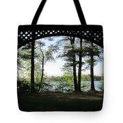 Wilson Pond Framed Tote Bag
