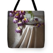 Wilted Bouquet Of Tulips Tote Bag