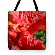 Wilting Hibiscus Two Tote Bag