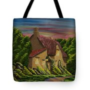 Wiltshire At Sunset Tote Bag