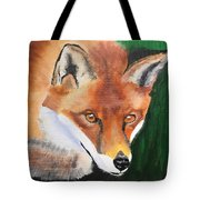 Wily Fox Tote Bag