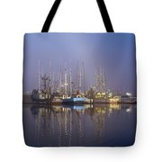 Winchester Bay Fishing Boats Tote Bag