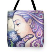 Wind - The Elements Tote Bag