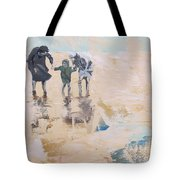 Wind And Kids Tote Bag