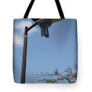 Wind And Solar Powered Light Tote Bag