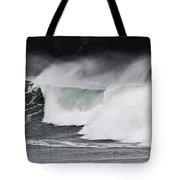 Wind And Waves In Oregon Tote Bag