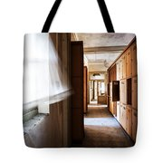 Wind Blows Past Times Away - Urbex Tote Bag