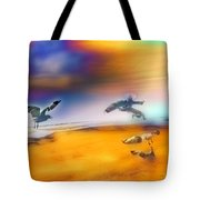 Wind Drifters Tote Bag